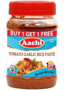Tomato Garlic Rice Paste