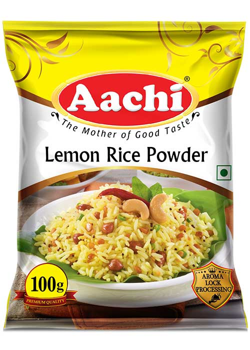 Masala powders for veg aachigroup lemon rice powder lemonricepowder100g ccuart Choice Image
